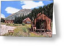 Alta In Colorado Greeting Card by Guido Borelli