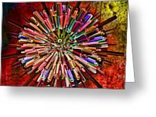 Alter Ego Greeting Card by Deborah Benoit