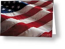 American Flag Greeting Card by Jon Neidert