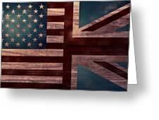 American Jack II Greeting Card by April Moen