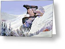 American Majesty  Greeting Card by David Lloyd Glover