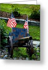 American Pride Greeting Card by Timothy  Shea