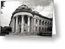 American University Mc Kinley Building Greeting Card by University Icons