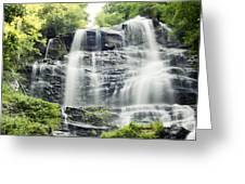 Amicalola Falls Greeting Card by Jim Baker