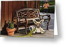 Amigo Greeting Card by Joy Bradley