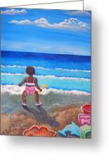 An Affinity For The Deep Greeting Card by Pamorama Jones