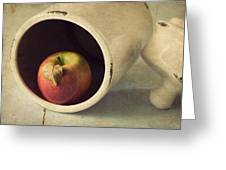 An Apple A Day... Greeting Card by Amy Weiss
