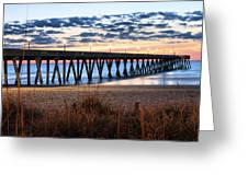 An Atlantic Daybreak Greeting Card by JC Findley
