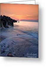 An Evening By The Sea Greeting Card by Igor Baranov