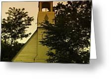 AN OLD CHURCH NEAR MOXEE WA Greeting Card by Jeff  Swan