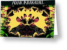 Anak Krakatau - Child Of Krakatoa Greeting Card by Jim Pavelle