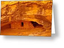 Anasazi Ruins  Greeting Card by Jeff Swan