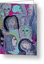 Ancestral Cave Greeting Card by First Star Art
