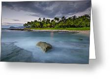 Anchor Of The Sea At Koolina Greeting Card by Tin Lung Chao
