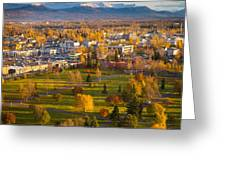 Anchorage Landscape Greeting Card by Inge Johnsson