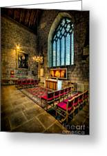 Ancient Cathedral Greeting Card by Adrian Evans