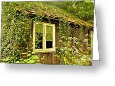 Ancient Cottage Greeting Card by Rene Triay Photography