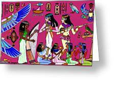 Ancient Egypt Splendor Greeting Card by Hartmut Jager