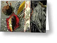 Ancient History Greeting Card by Maria Jesus Hernandez