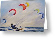 And You'll Take To The Skies Greeting Card by Cecelia Campbell