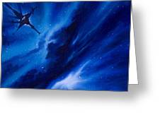 Andreas Nebula Greeting Card by James Christopher Hill