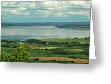 Annapolis Valley No.1 Greeting Card by George Cousins