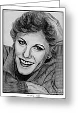 Anne Murray In 1983 Greeting Card by J McCombie