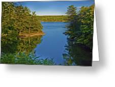 Anne's Cove Greeting Card by Jill Brooks
