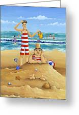 Another Fine Mess Greeting Card by Peter Adderley