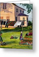 Another Way Of Life II Greeting Card by Marilyn Smith