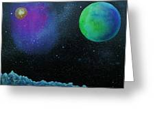 Another World - Sold Greeting Card by Lou Cicardo