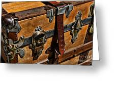 Antique Steamer Truck Detail Greeting Card by Paul Ward
