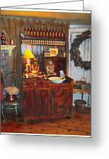 Antiques And Fragrances Greeting Card by Glenn McCarthy Art and Photography