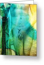 Aphrodite's First Love - Guitar Art By Sharon Cummings Greeting Card by Sharon Cummings