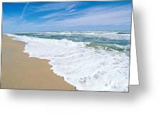 Apollo Beach Greeting Card by Millard H. Sharp