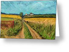 Apostelhoeve Wine Estate Maastricht Greeting Card by Nop Briex