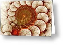 Apple Cinnamon Greeting Card by Anastasiya Malakhova