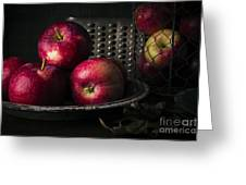 Apple Harvest Greeting Card by Edward Fielding