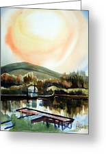 Approaching Dusk I Greeting Card by Kip DeVore