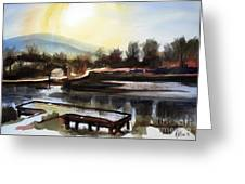 Approaching Dusk II Greeting Card by Kip DeVore