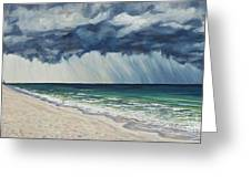Approaching Gail Greeting Card by Danielle  Perry