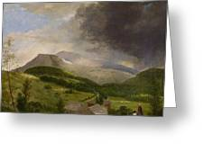 Approaching Storm  White Mountains Greeting Card by Alvan Fisher