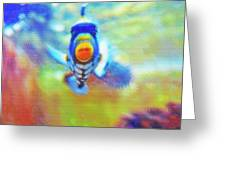 Aquarium Art 18 Greeting Card by Steve Ohlsen