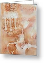 Arabesque Coffee Pots And Jewellery IIi Greeting Card by Beena Samuel