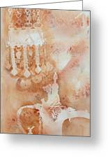 Arabesque Coffee Pots And Jewellery IIi Greeting Card by Beena Samuel