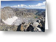 Arapaho Glacier Greeting Card by Aaron Spong
