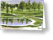 Arcadia Valley Country Club Greeting Card by Kip DeVore