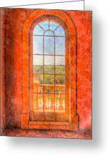 Arched Greeting Card by Heidi Smith