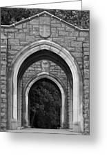 Arches Greeting Card by Brenda Conrad