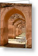 Arches Greeting Card by Sophie Vigneault